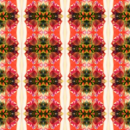 eg: Seamless pattern of roses. For eg fabric, wallpaper, wall decorations. Stock Photo