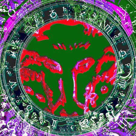 capricornus: Zodiac sign Taurus.