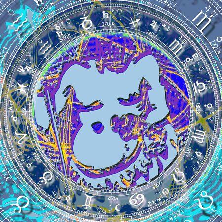 capricornus: Zodiac sign Aquarius.