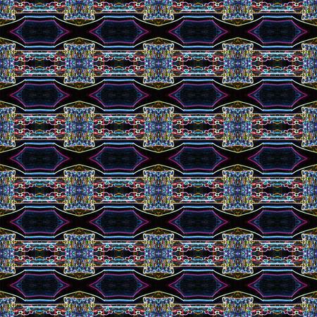 Seamless art light pattern. For eg fabric, wallpaper, wall decorations.
