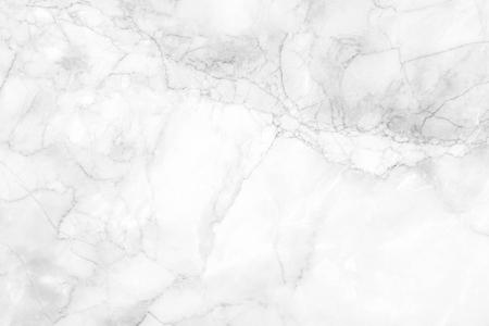 Weiße Marmorstruktur mit natürlichem Muster für Hintergrund- oder Designkunstwerke oder Buch oder Broschüre, Poster, Tapetenhintergrund und realistisches Geschäft. Standard-Bild