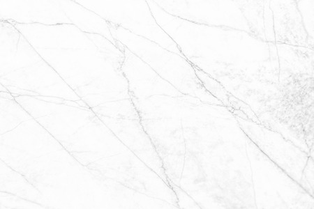 White marble texture with natural pattern for background or design art work or cover book or brochure, poster, wallpaper background and realistic business. Banco de Imagens - 122390266