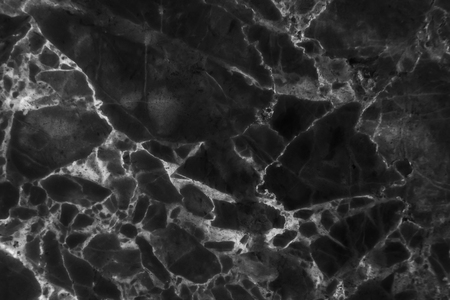 Textura de mármol negro con patrón natural de alta resolución para fondo de pantalla o trabajo de arte de diseño Foto de archivo