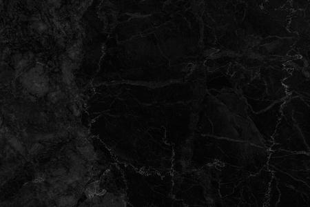 Zwarte marmeren textuur met natuurlijke patroon hoge resolutie voor wallpaper achtergrond of ontwerp kunstwerk. Stockfoto