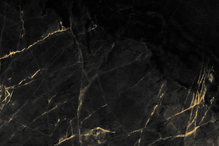 Black and gold marble texture design for cover book or brochure, poster, wallpaper background or realistic business and design artwork.