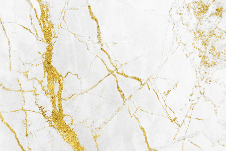 White gold marble texture pattern background with high resolution design for cover book or brochure, poster, wallpaper background or realistic business Archivio Fotografico