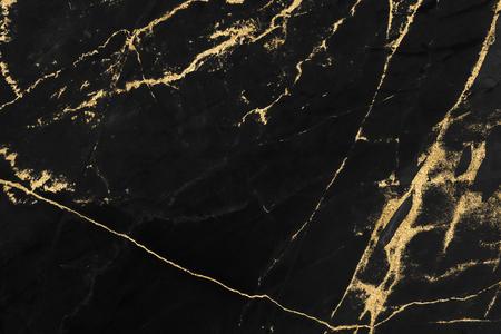 Conception de texture de marbre noir et or pour le livre de couverture ou la brochure, l'affiche, le fond d'écran ou les œuvres d'art réalistes.