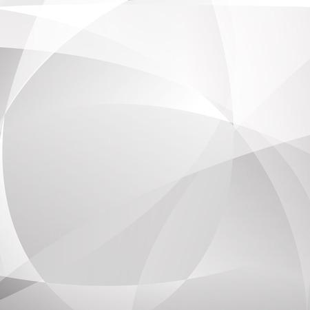 Fondo moderno geometrico astratto di colore bianco e grigio, luce e ombra, illustrazione vettoriale. Vettoriali