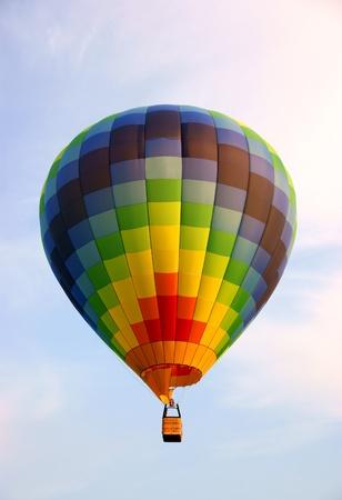 Nice hot air balloon (no people) Stock Photo