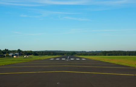 airstrip: Small airstrip in germany (eiffel)