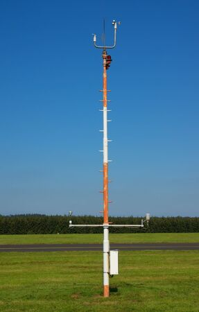 Wind station at small airfield photo