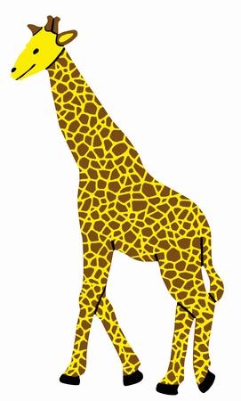 Illustration of a toy giraffe Illustration