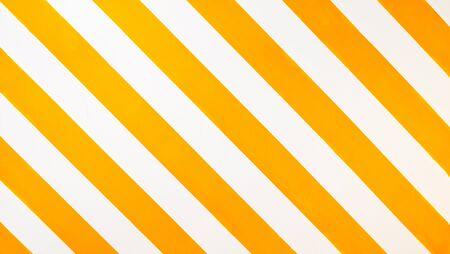 Yellow stripe pattern on wall