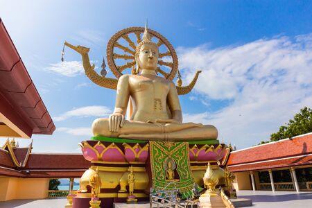 Big Buddha statue at Koh Samui, Wat Phra Yai, Thailand