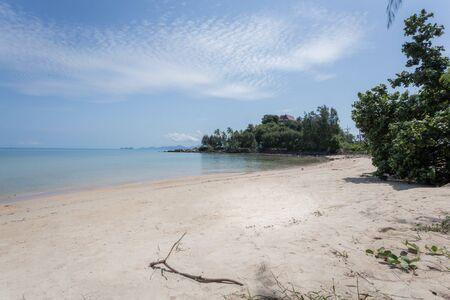 The beach in the morning at Bangpor beach Samui island, Thailand Banco de Imagens