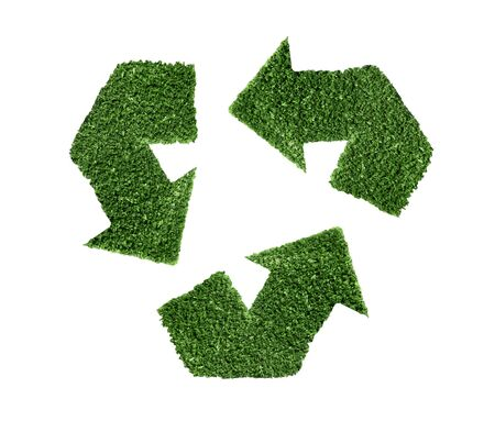 Recycle green symbol illustration, ecology, conservation, planet Stock Illustration - 4533819