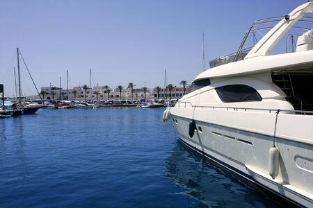 La Savina port in Formentera Mediterranean balearic island photo