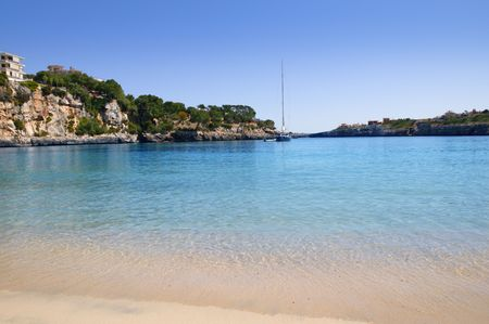 cristo: Manacor Porto Cristo Mallorca beach Balearic islands Spain    Stock Photo
