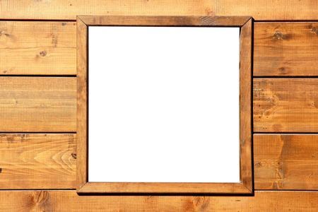 Wood window wall with square copyspace copy space   photo