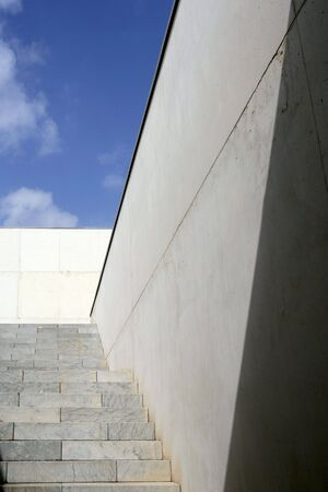 Modern architecture concrete stairs stairway photo