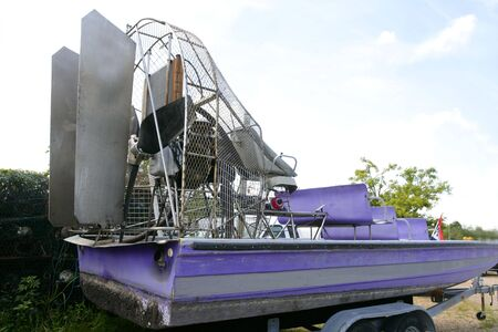 Everglades airboat in South Florida, National Park  photo