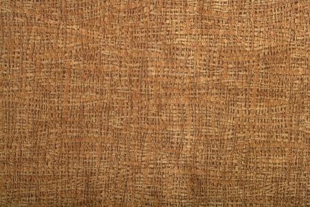 piel morena: Trama de fondo de textura de cuero de tela marr�n  Foto de archivo