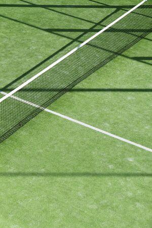 tennis stadium: paddle tenis hierba verde campo textura blanco las l�neas