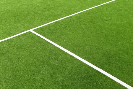 play tennis: paddle tennis green grass field texture white lines