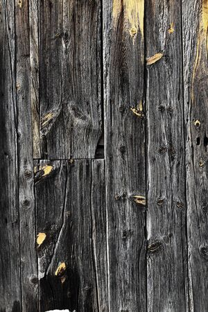 aged gray wooden door texture background  photo