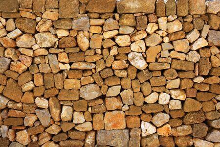 masonry stone wall on roman castle pattern background Stock Photo - 7102583