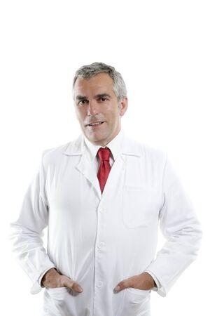 expertise doctos senior white gray hair smiling portrait looking camera Stock Photo - 7239955