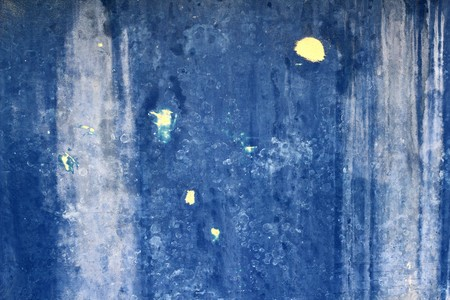 grunge blue aged painted wall texture vintage background Stock Photo - 7240638