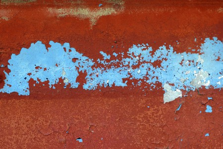 grunge red and blue aged wall texture vintage background Stock Photo - 7447422