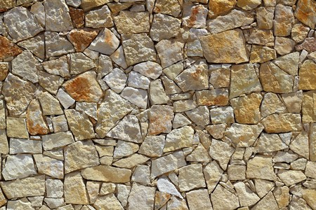 masonry stone wall rock construction pattern texture background Stock Photo - 7516168