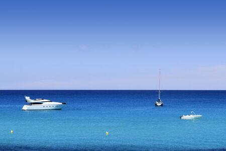 Formentera Cala Saona mediterranean best beaches Balearic Islands Stock Photo - 7780725