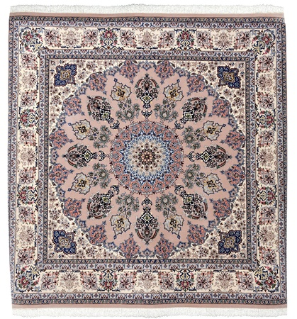 wool rugs: Arabic carpet colorful persian islamic handcraft handmade Stock Photo
