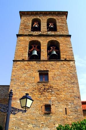 cilia: Santa Cilia Jaca romanesque church belfry tower Huesca aragon spain