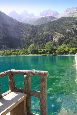 pyrenees: Panticosa balneary lake Pyrenees Huesca Spain