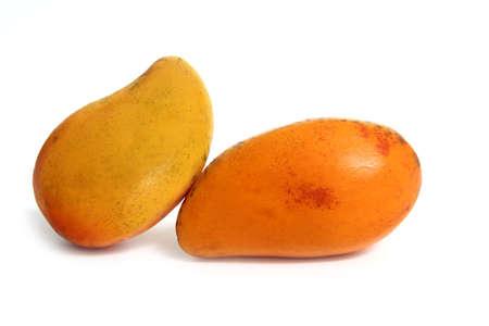 delicious mango tropical fruit isolated on white Stock Photo - 8926052