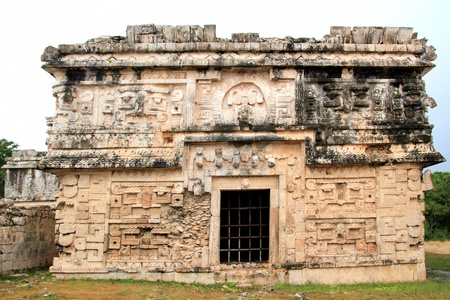Chichen Itza nun grouping Las Monjas Mayan nunnery Mexico Yucatan photo