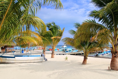 puerto: Puerto Juarez Cancun Quintana Roo tropical Caribbean boats