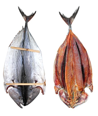 bonito tuna salted dried fish Mediteraranean sarda style photo