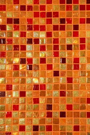 ceramic glass colorful tiles mosaic composition pattern background photo