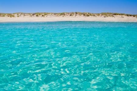 formentera: Illetas illetes turquoise beach shore Formentera balearic islands