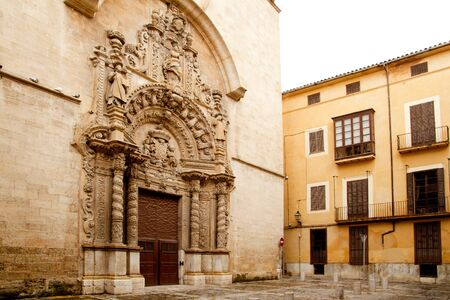 church of Montesion Monti Sion in Majorca at Palma de Mallorca Spain photo
