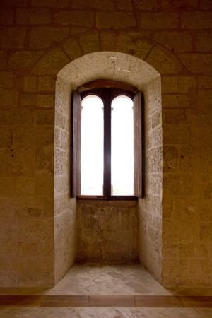 Bellver Castle Castillo indoor arch in Majorca at Palma de Mallorca Balearic Islands Stock Photo - 10438134
