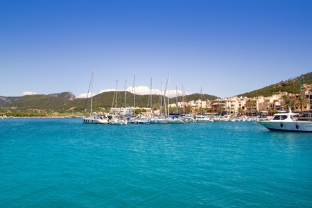 Andratx port marina in Mallorca balearic islands photo
