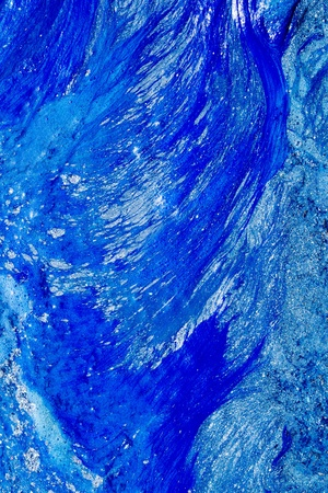 abstract blue and white fresh paint mixed texture shapes Stock Photo - 10489890
