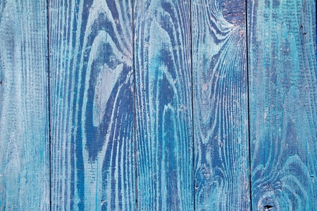 blue weathered wood door texture good as grunge background photo