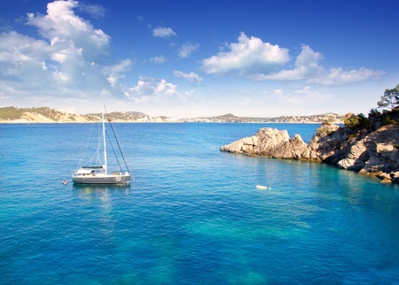Calvia Cala Fornells Majorca in Mediterranean Mallorca Island